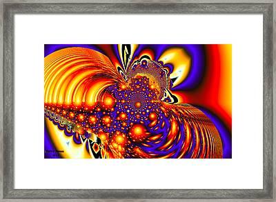 Space Odyssey Framed Print