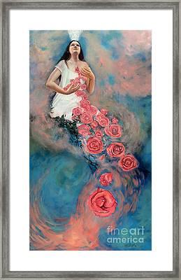 Space Of Love Framed Print