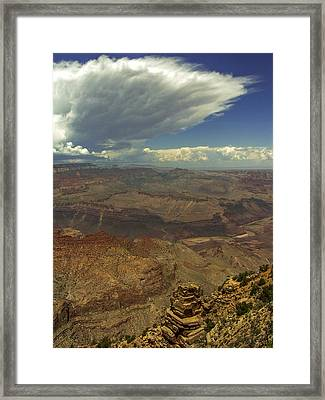 Space On Earth Framed Print by Lovejoy Creations