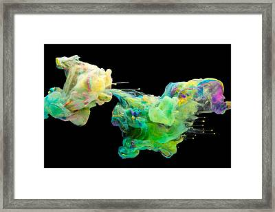 Space Romance - Abstract Photography Art Framed Print