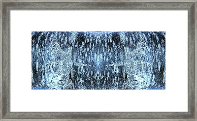Framed Print featuring the digital art Space Sentinels by Stephanie Grant