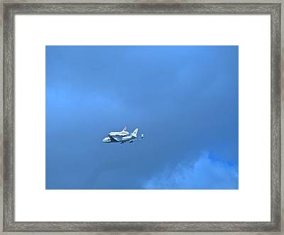 Space Shuttle Enterprise Framed Print by Kenneth Summers