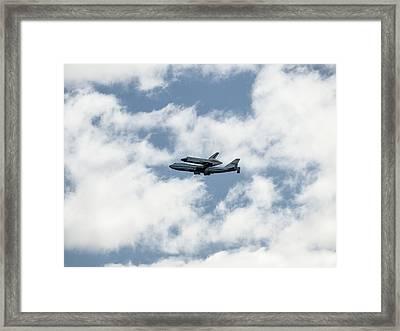 Space Shuttle Enterprise  Framed Print by Wayne Gill