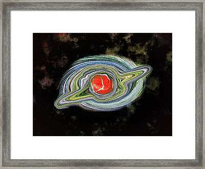 Space The Final Frontier Framed Print by Bill Cannon