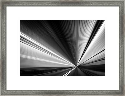 Space-time Continuum Framed Print by Mihai Andritoiu