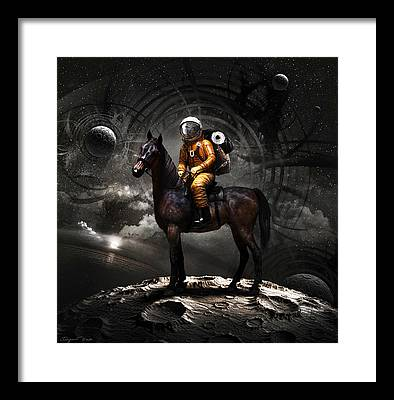 Space Framed Prints
