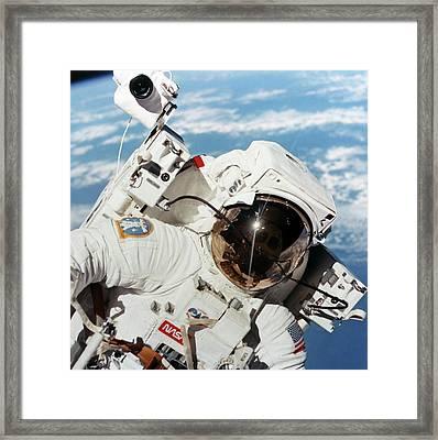 Space-walk Framed Print