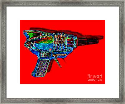 Spacegun 20130115v1 Framed Print by Wingsdomain Art and Photography