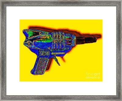 Spacegun 20130115v2 Framed Print by Wingsdomain Art and Photography