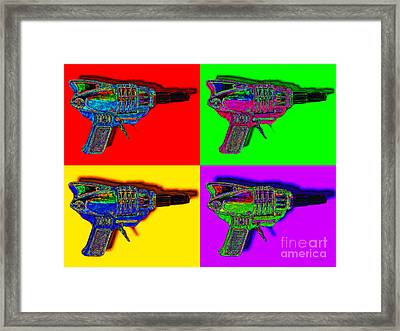 Spacegun Four 20130115 Framed Print by Wingsdomain Art and Photography