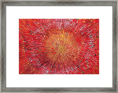 Spacetime Expansion  Framed Print