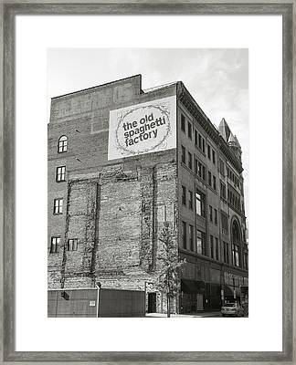 Spaghetti Factory II Framed Print by Steven Ainsworth