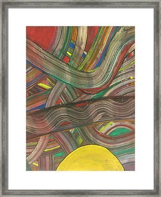 Spaghetti Junction Framed Print