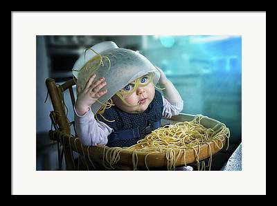 Spaghetti Photographs Framed Prints