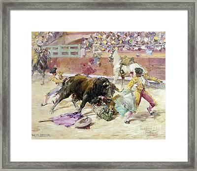 Spain - Bullfight C1900 Framed Print by Granger