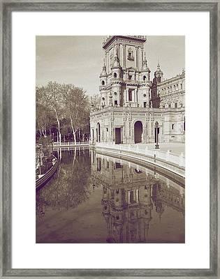Spain 1 Framed Print by Simone Ochrym