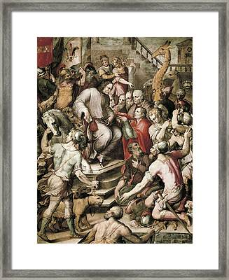 Spain 16th C.. Port Of Embarkation Framed Print by Everett