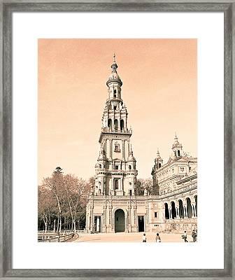 Spain 2 Framed Print by Simone Ochrym