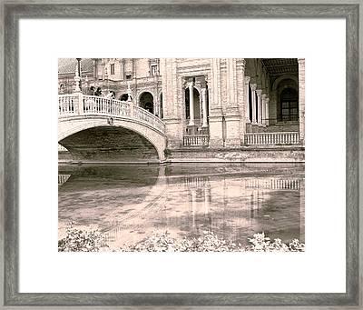 Spain 3 Framed Print by Simone Ochrym