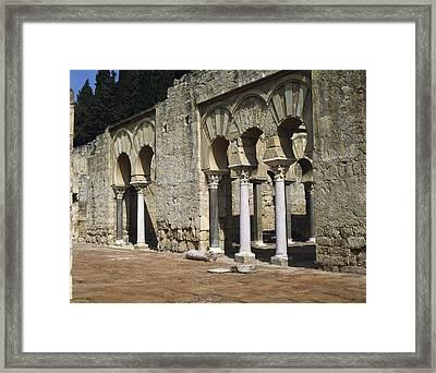 Spain. Andalusia. Cordoba. Medina Framed Print