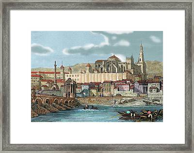 Spain, Andalusia, Cordoba Framed Print