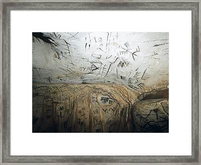 Spain. Benajo�n. La Pileta Cave Framed Print by Everett