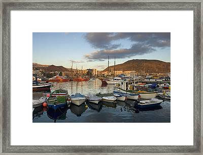 Spain, Canary Islands, Tenerife, Los Framed Print by Chris Parker
