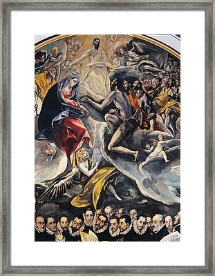 Spain, Castiglia Mancia, Toledo, Santo Framed Print