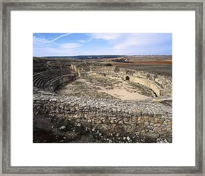 Spain. Castile-la Mancha. Cuenca Framed Print