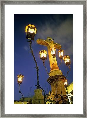 Spain. Cordoba. Cristo De Los Faroles Framed Print
