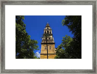 Spain. Cordoba. Mezquita Mosque. Bell Framed Print