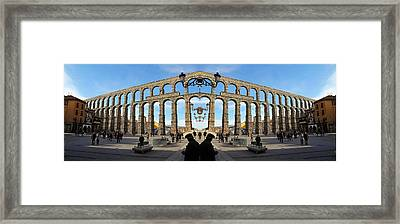 Spain Double Vision #200 Framed Print by Evan Peller