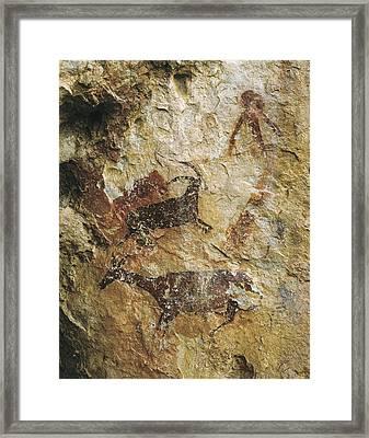 Spain. El Perell�. Cave Of La Cabra Framed Print by Everett
