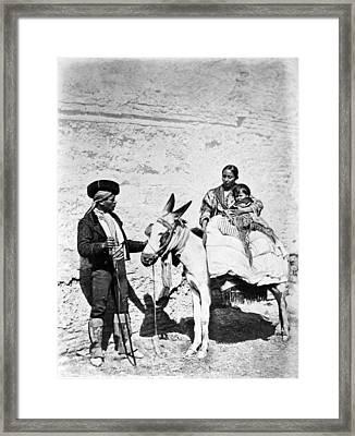 Spain Gypsies, C1860-80 Framed Print by Granger