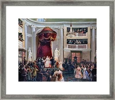 Spain Isabel II, 1843 Framed Print by Granger