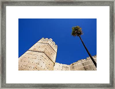 Spain. Jerez De La Frontera. Alc�zar Framed Print