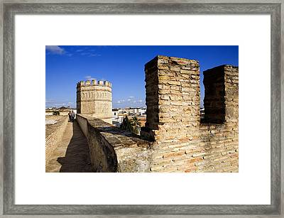 Spain. Jerez De La Frontera. Walls Framed Print