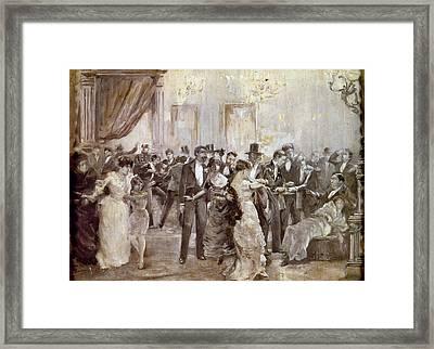 Spain Liceu Theater, 1893 Framed Print by Granger