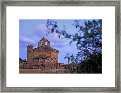 Spain. Muruz�bal. Romanesque Church Framed Print by Everett