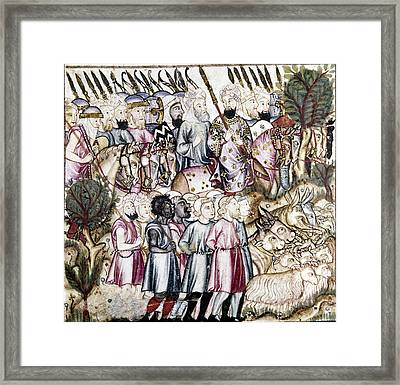 Spain Muslim Conquest Framed Print by Granger