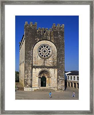 Spain. Portomar�n. San Juan Romanesque Framed Print by Everett