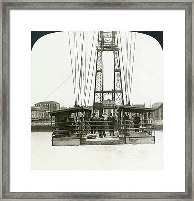 Spain Portugalette, C1908 Framed Print by Granger