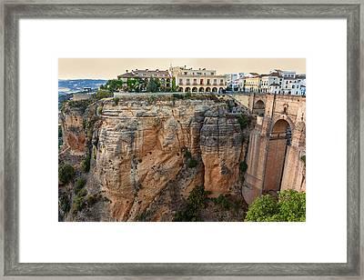 Spain, Ronda Framed Print by John Ford