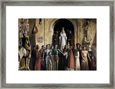 Spain. Segovia. Alcazar Castle. Spain Framed Print