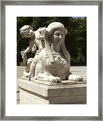 Spain. Segovia. Royal Palace Of La Framed Print by Everett