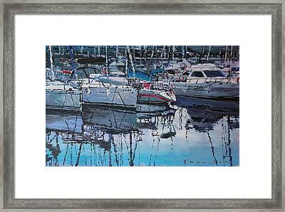 Spain Series 05 Port Del Balis Framed Print by Yuriy Shevchuk