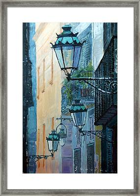 Spain Series 07 Barcelona  Framed Print by Yuriy Shevchuk