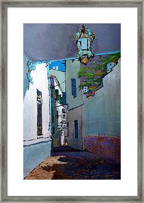 Spain Series 09 Cadaques Framed Print by Yuriy Shevchuk