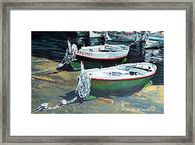 Spain Series 11 Cadaques Port Lligat Framed Print by Yuriy Shevchuk
