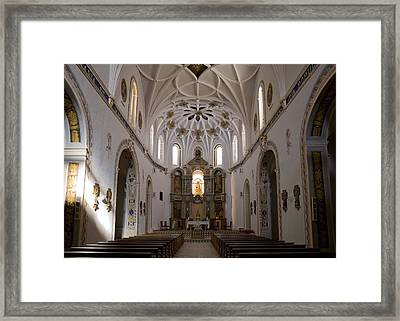 Spain. Teruel. Estercuel. Monasterio De Framed Print by Everett